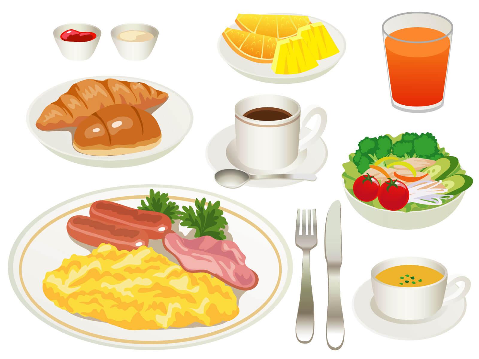 幼稚園児の朝ごはんのメニュー