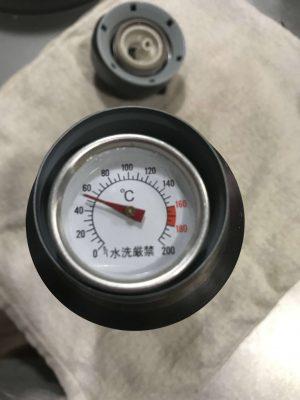 発酵あんこ 2~3時間置きに温度確認